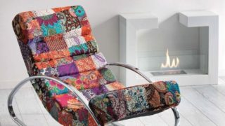 Patchwork-Rocking-Chair